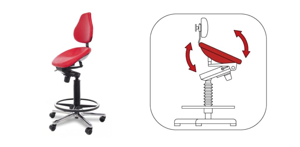 SIège assis debout | Boutique ergonomie