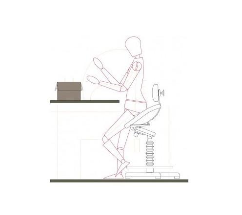 SIège assis debout | Croquis